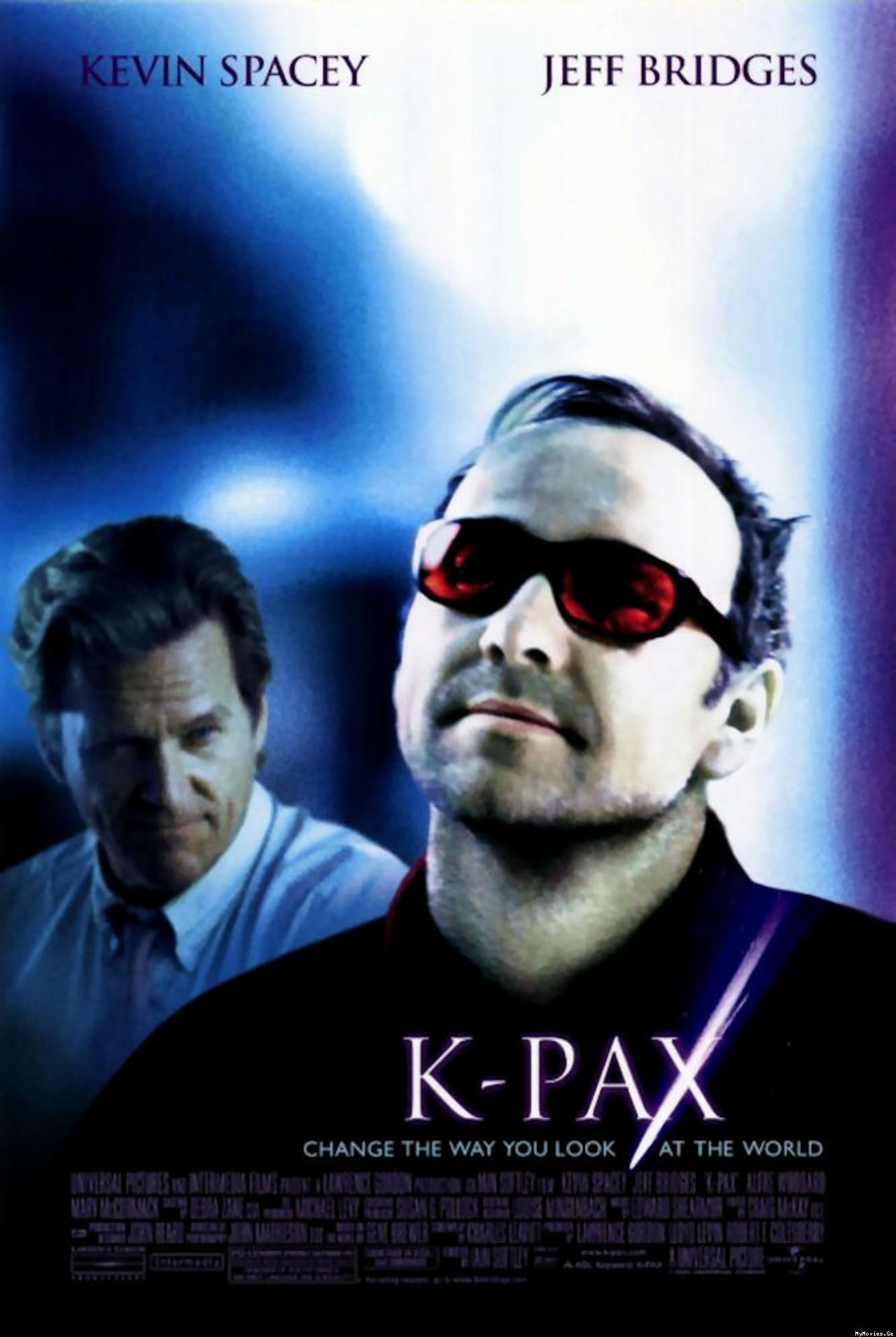 Risultati immagini per K-PAX ( 2001 ) POSTER