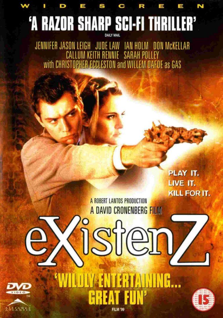 existenz movie poster