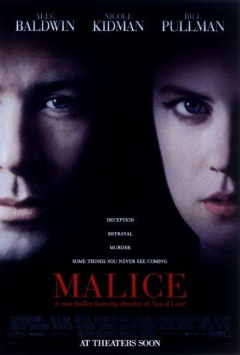 malice movie poster