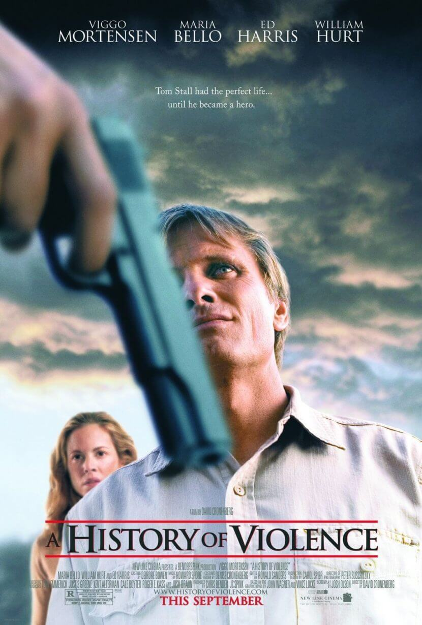 a history of violence movie poster