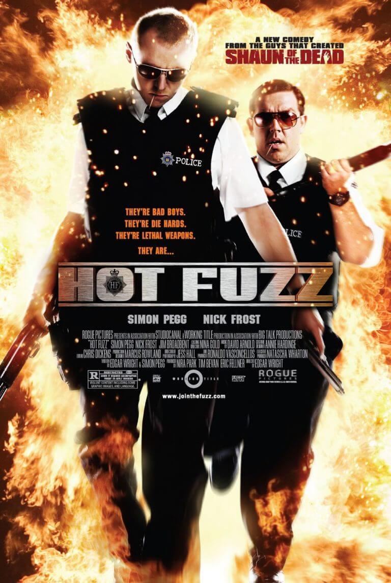 hot fuzz movie poster