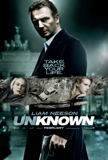 unknown identidy movie poster
