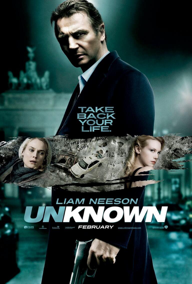 unknown identidy movie poster
