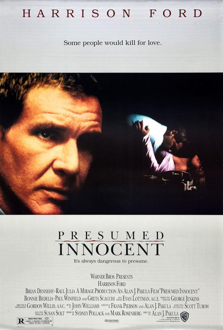 presumed innocent movie poster