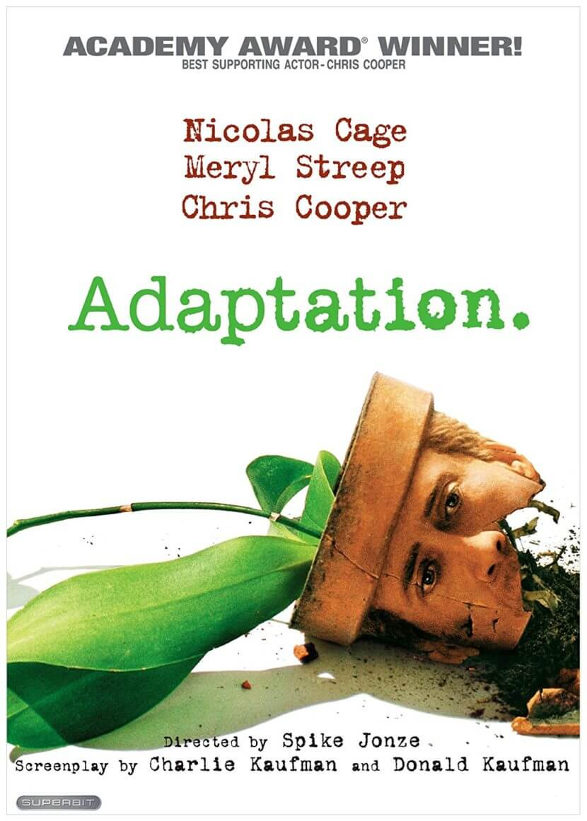 adaptation movie poster